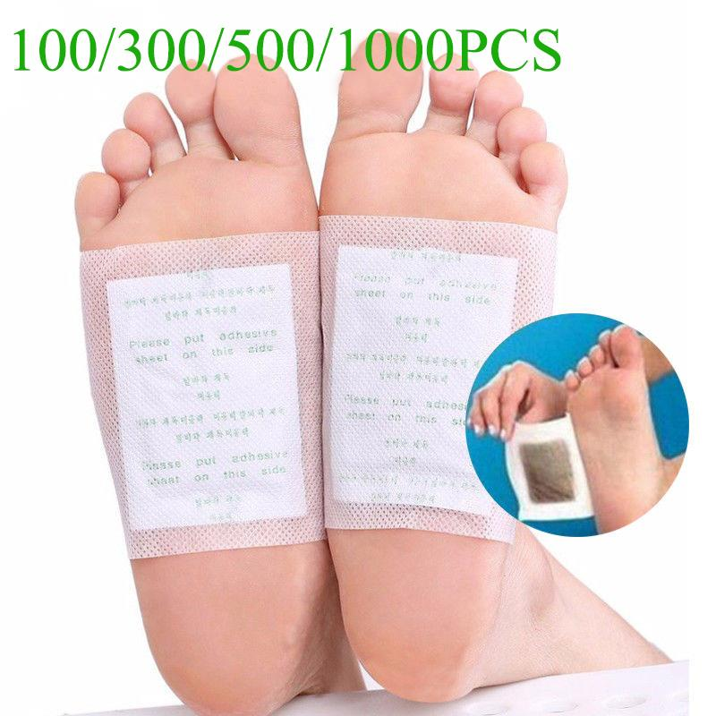 100 detox foot pads patch detoxify remove toxins patches with.